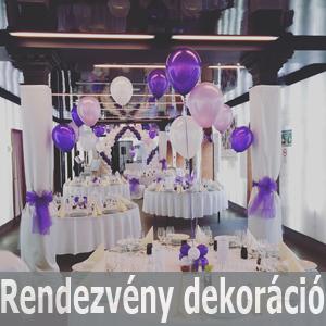 esküvő, rendezvény dekoráció