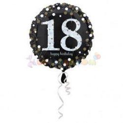 18-as Happy Birthday Sparkling Születésnapi Fólia Lufi