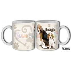 Beagle – Kutyás bögre