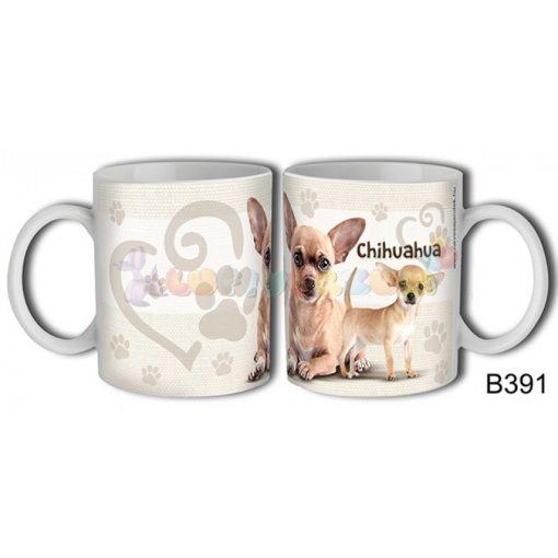 Chihuahua – Kutyás bögre