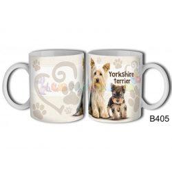 Yorkshire terrier – Kutyás bögre