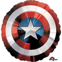 Amerika Kapitány Pajzs - Avengers Shield Fólia Léggömb