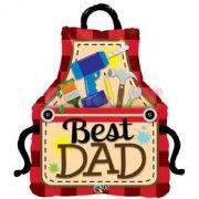 Best Dad Apák Napi Fólia Luf