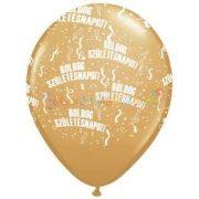 Boldog Születésnapot Arany Lufi