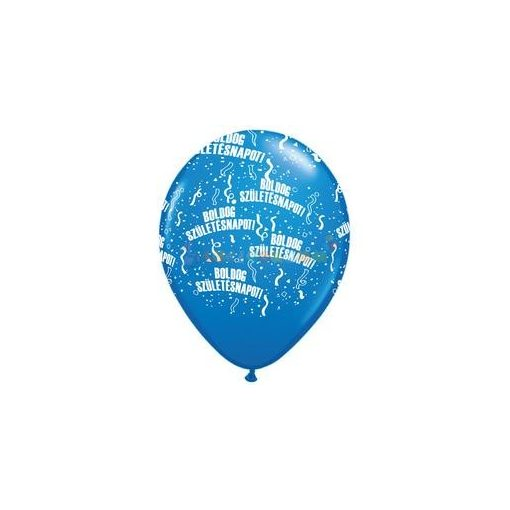Boldog Születésnapot Kék Lufi