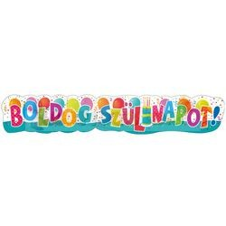 Boldog szülinapot Jamboree feliratú mintás banner - 148 cm-es
