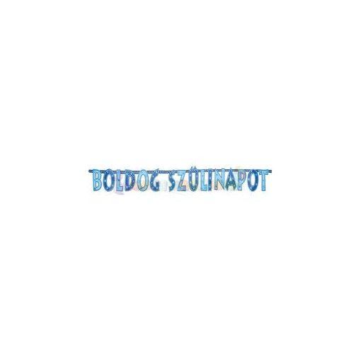 Boldog Szülinapot! Kék Fiús Betűfüzér - 2,3 m