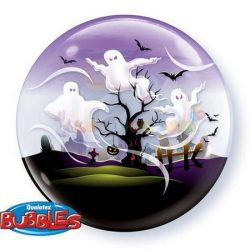 Szellemes Halloweenes Bubble Lufi