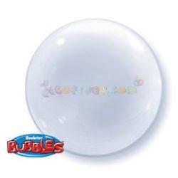 Átlátszó Deco Bubble Lufi 51 cm