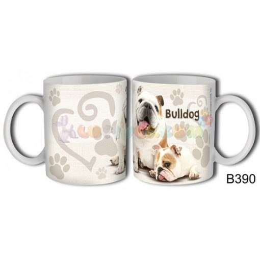 Bulldog – Kutyás bögre
