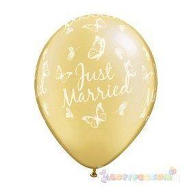 Lufi gumiból esküvőre