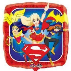 Dc lány szuperhősök Fólia Lufi