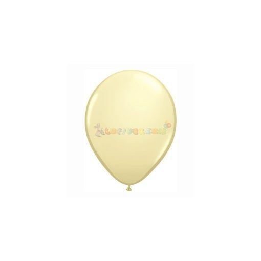 28 cm-es krém  latex Qualatex party lufi