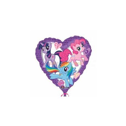 Én kicsi pónim szív fólia lufi 45 cm