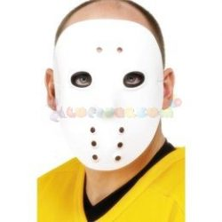 Fehér Műanyag Hockey Maszk