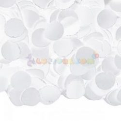 Fehér Papír Konfetti - 100 g