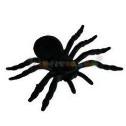 Fekete Pók - 20 cm