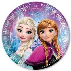 Frozen - Jégvarázs Északi Fény Parti Tányér - 23 cm, 8 db-os