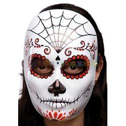 Halottak Napja Álarc Halloween-ra