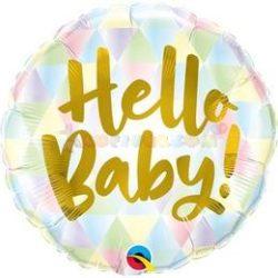 Hello Baby! Fólia Lufi Babaszületésre