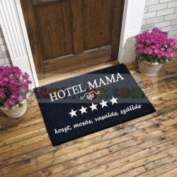 Vicces gumis lábtörlő - Hotel Mama