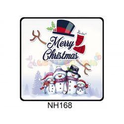 Hűtőmágnes Hóember család – Karácsonyi Ajándékok