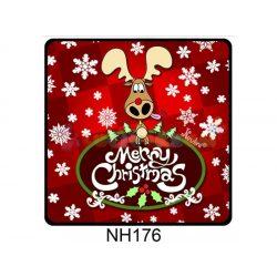 Hűtőmágnes Merry Christmas szarvas – Karácsonyi Ajándékok