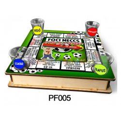 Ivós Társasjáték - Vicces Ajándék - Focis Társasjáték - PF005