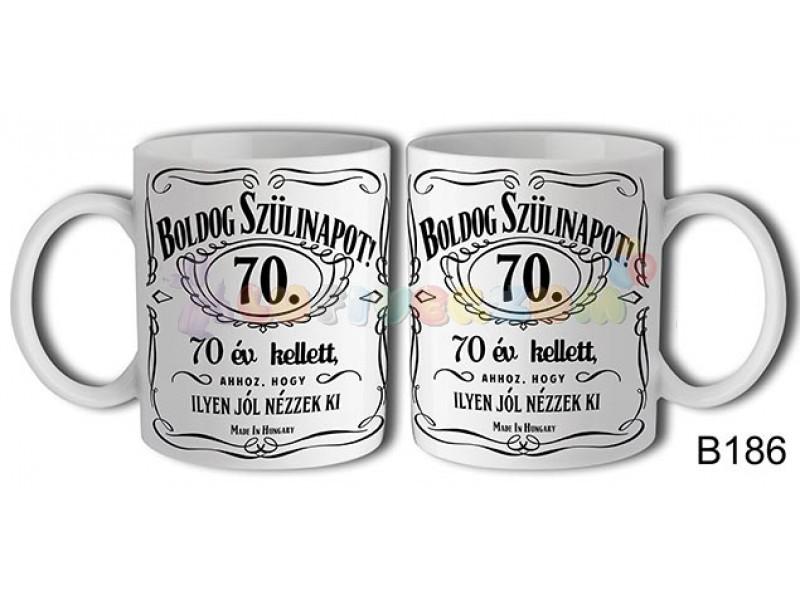 boldog 70 születésnapot Boldog Szülinapot Jack 70 – Születésnapi bögre   lufi bolt  boldog 70 születésnapot