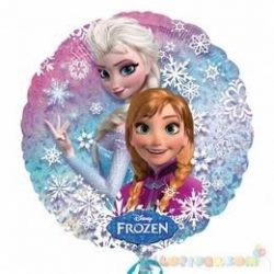Frozen - Jégvarázs holografikus fólia lufi