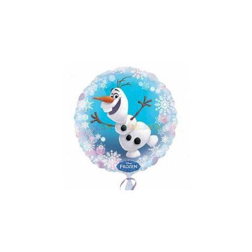 Jégvarázs - Olaf fólia lufi 45 cm