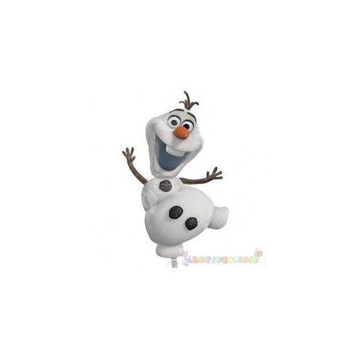 Olaf - Frozen fólia léggömb - 58 cm x 104 cm
