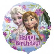 Happy Birthday Jégvarázs - Disney Frozen - Szülinapi Fólia Lufi