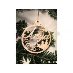 Karácsonyfa díszek – Anya – Karácsonyi ajándék ötletek