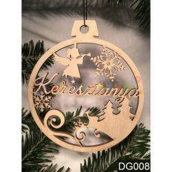 Karácsonyfa díszek – Keresztanya – Karácsonyi ajándék ötletek