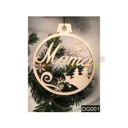 Karácsonyfa díszek – Mama – Karácsonyi ajándék ötletek