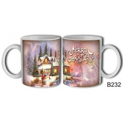 Festményes Karácsony – Karácsonyi bögre – Karácsonyi ajándék