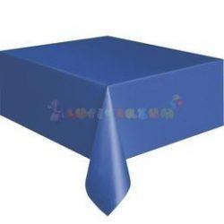Királykék Műanyag Party Asztalterítő - 137 cm x 274 cm