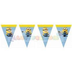 Lovely Minions Parti Zászlófüzér - 2,3 m