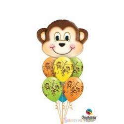 Luficsokor - Óriás majom és latex lufik