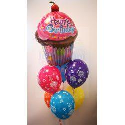 Luficsokor - Születésnapi dekoráció - muffinos
