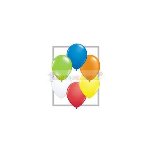 Belbal léggömb 26 cm-es vegyes színekben 100db/csomag