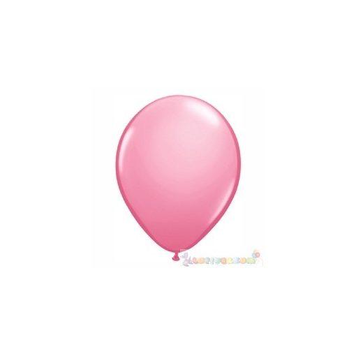 40 cm-es latex Qualatex party léggömb - pink