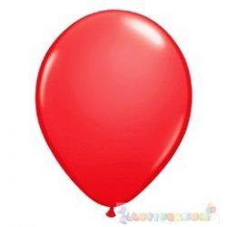 40 cm-es latex Qualatex party léggömb - piros
