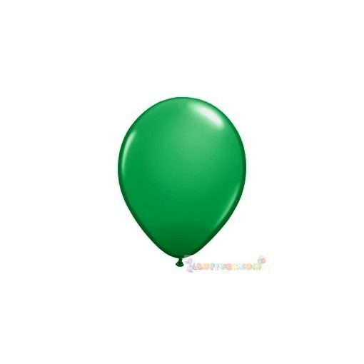 40 cm-es latex Qualatex party Léggömb  darabra - zöld
