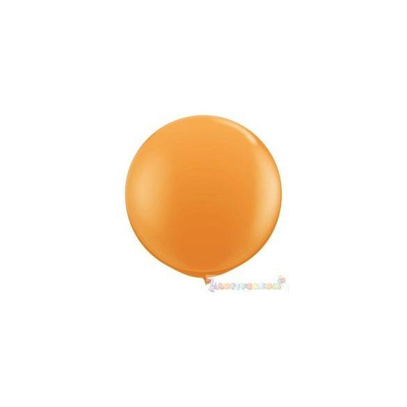 91 cm-es latex Qualatex party léggömb - narancssárga