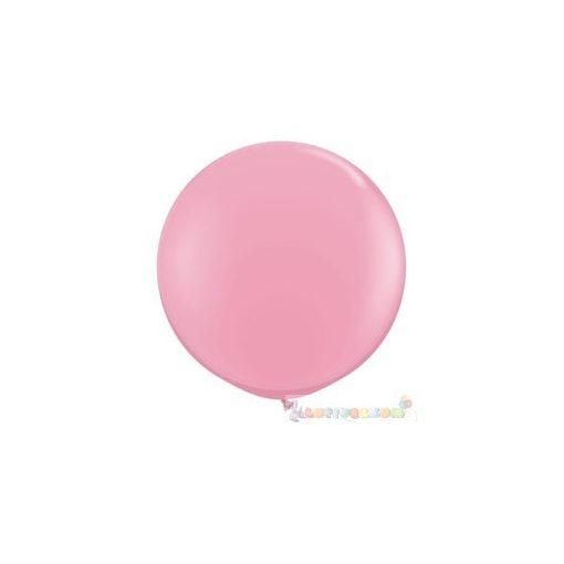 91 cm-es latex Qualatex party léggömb - pink