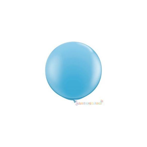 91 cm-es latex Qualatex party léggömb - tenger kék