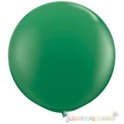91 cm-es latex Qualatex party léggömb - zöld