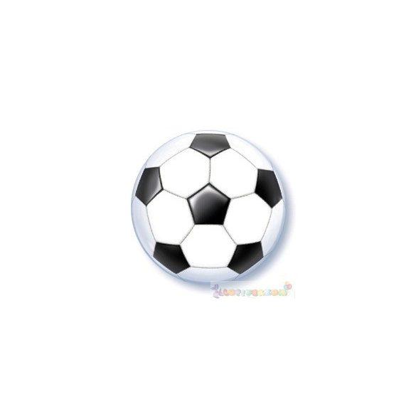 56 cm-es Focilabdás bubbles léggömb